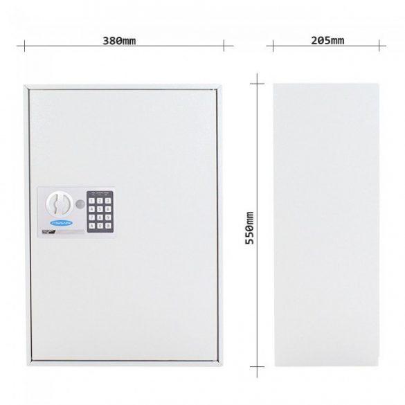 S250 kulcsszekrény elektronikus zárral 550x380x205mm