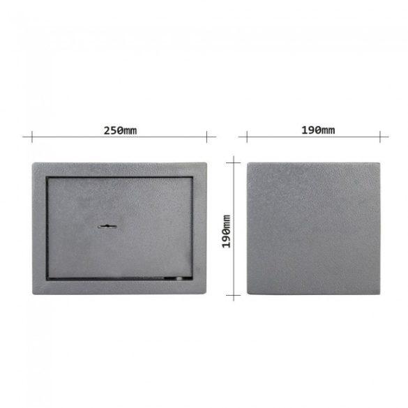 HomeStar 2 bútorszéf kulcsos zárral 190x250x190mm