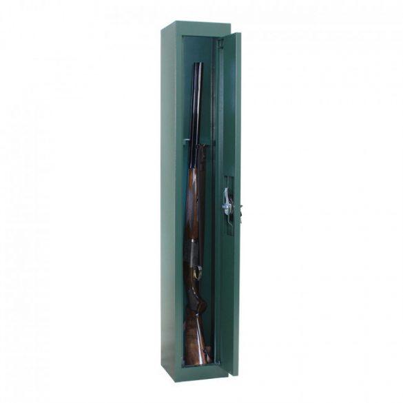 Gun1 fegyverszekrény kulcsos zárral 1250x200x200mm