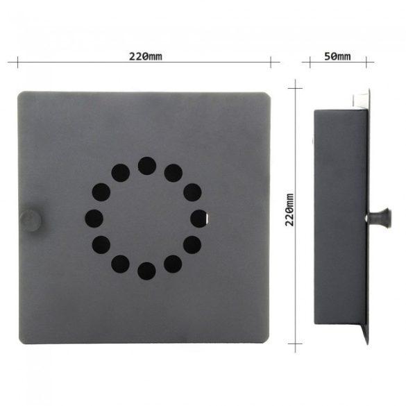 Key Point10 fali kulcstartó 220x220x50mm