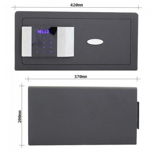 PrestigeLAP bútorszéf elektronikus zárral 200x420x370mm