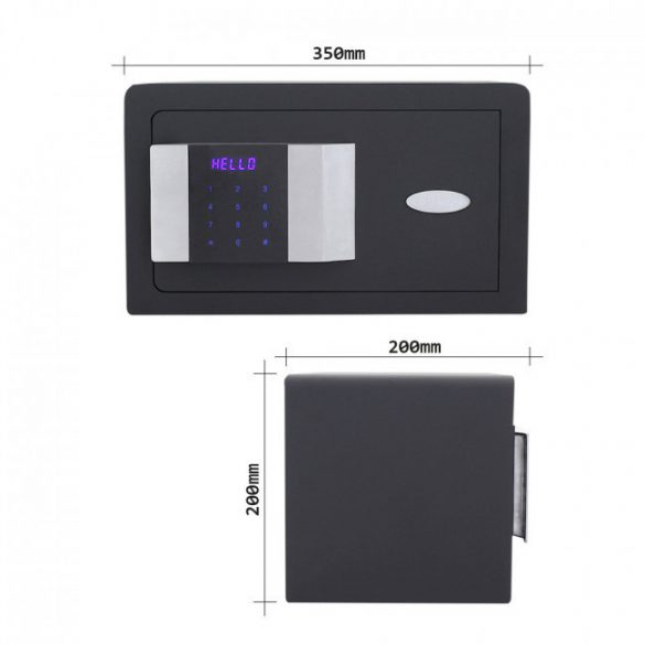 Prestige200 bútorszéf elektronikus zárral 200x350x200mm