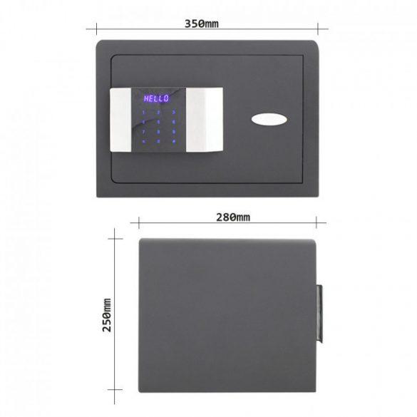 Prestige250 bútorszéf elektronikus zárral 250x350x280mm
