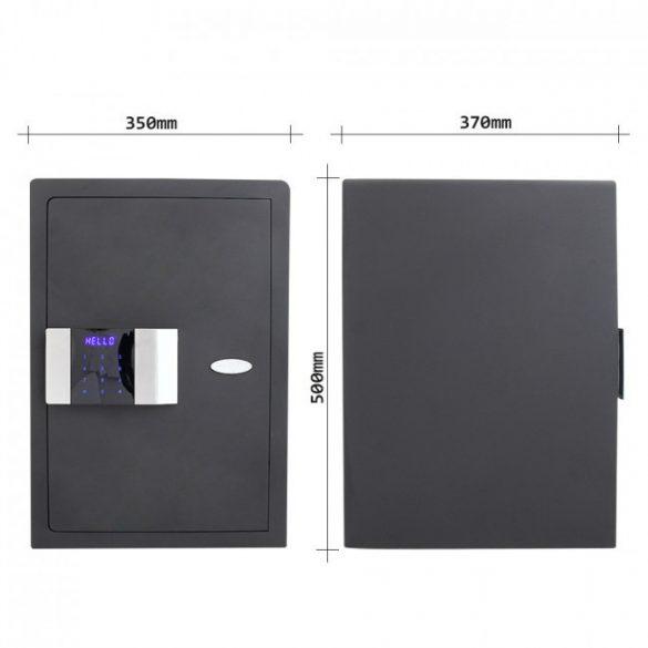 Prestige500 bútorszéf elektronikus zárral 500x350x370mm