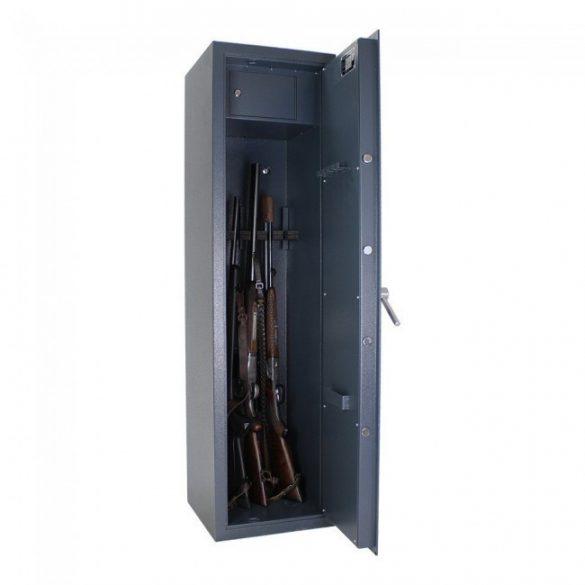 Dakota5 fegyverszekrény kulcsos zárral 1500x400x400mm