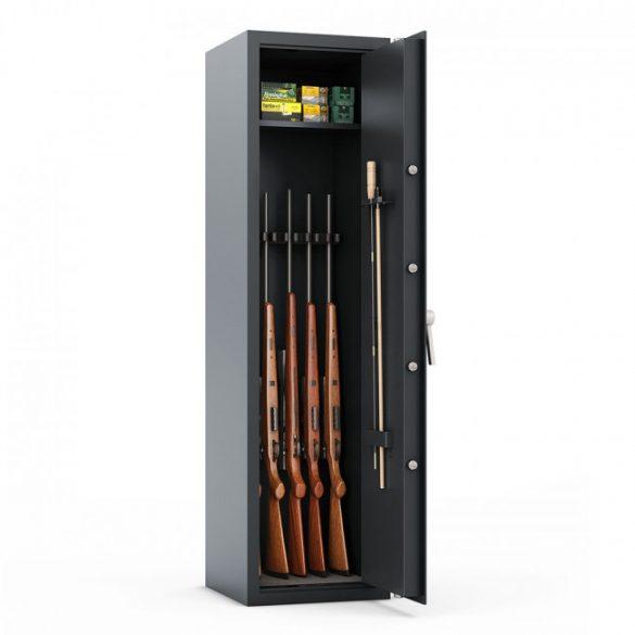 Dakota5 fegyverszekrény elektronikus zárral 1500x400x400mm