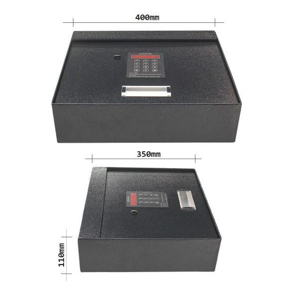 Rottner Cover Chest fiókba helyezhető értékmegőrző elektronikus zárral 110x400x350mm