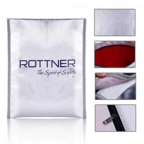 Rottner tűzálló táska A4 méretben 340x250x20mm
