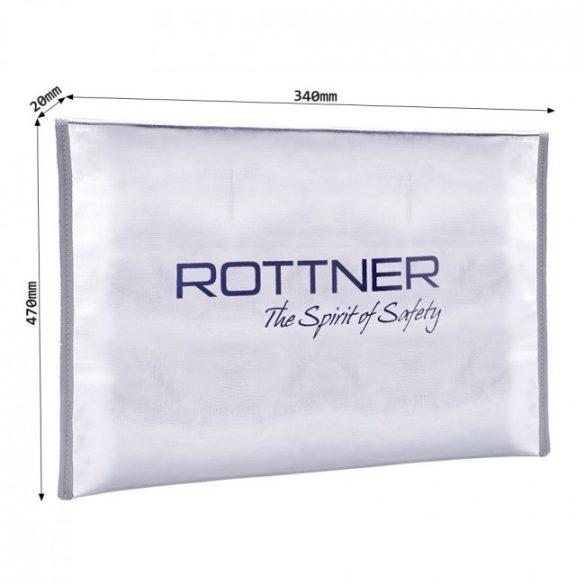 Rottner tűzálló táska A3 méretben 470x340x20mm