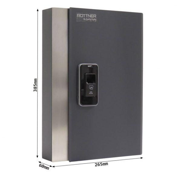 Key Pro 24 kulcstároló biometrikus zárral 385x265x60mm