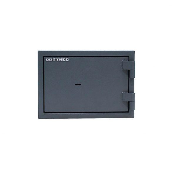 Rottner FireHero30 tűzálló és betörésbiztos páncélszekrény kulcsos zárral 300x427x385mm