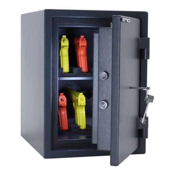 Rottner FireHero50 tűzálló és betörésbiztos páncélszekrény kulcsos zárral 490x360x450mm