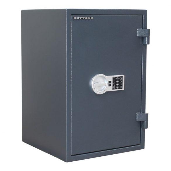 Rottner FireHero65 tűzálló és betörésbiztos páncélszekrény elektronikus zárral 670x440x450mm