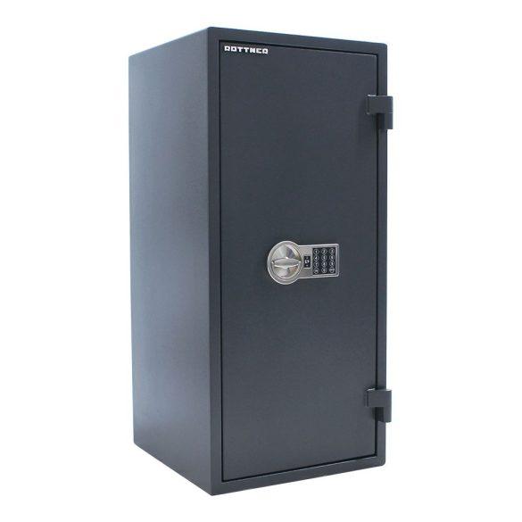 Rottner FireHero100 tűzálló és betörésbiztos páncélszekrény elektronikus zárral 950x360x450mm