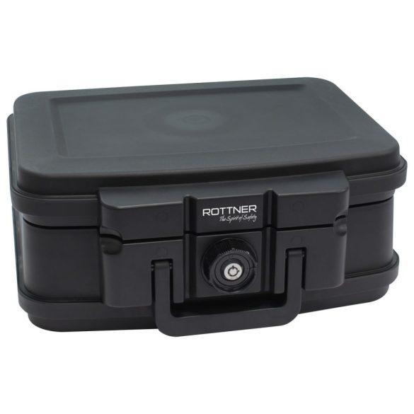 Rottner Fire Data Box 1 tűzálló értékkazetta kulcsos zárral 165x382x324mm