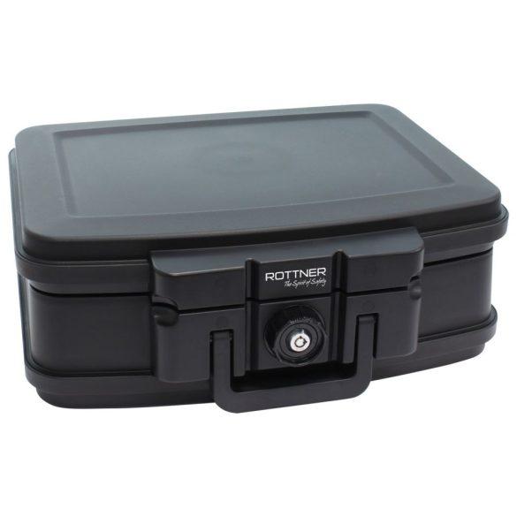 Rottner Fire Data Box 2 tűzálló értékkazetta kulcsos zárral 165x440x370mm