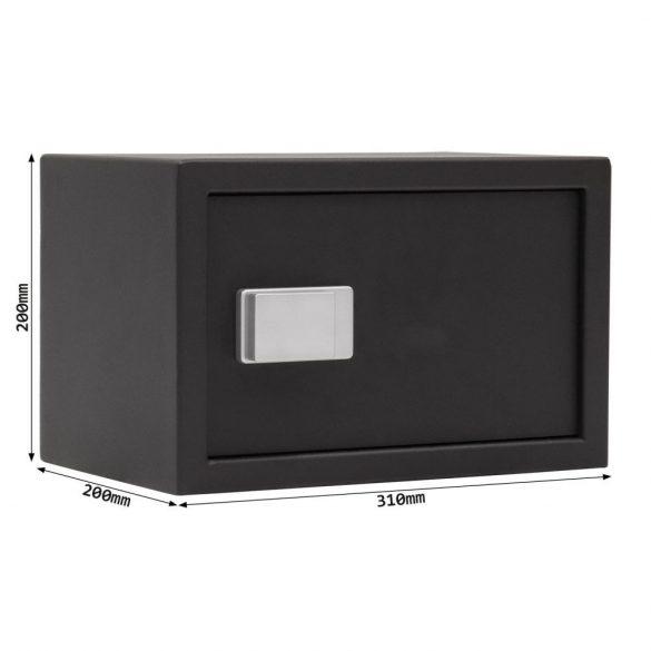 Rottner Fifty bútorszéf Bluetooth zárral fekete színben 200x310x200mm