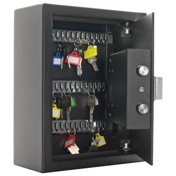 Rottner Fifty kulcstároló bluetooth zárral fekete színben 300x245x110mm