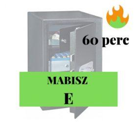 MABISZ E - 60perc tűzvédelem