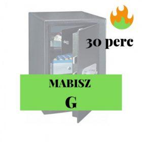 MABISZ G, 30perc tűzvédelem